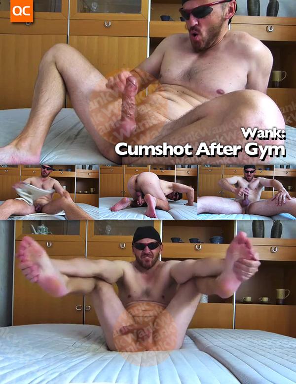 Wank: Cumshot After Gym