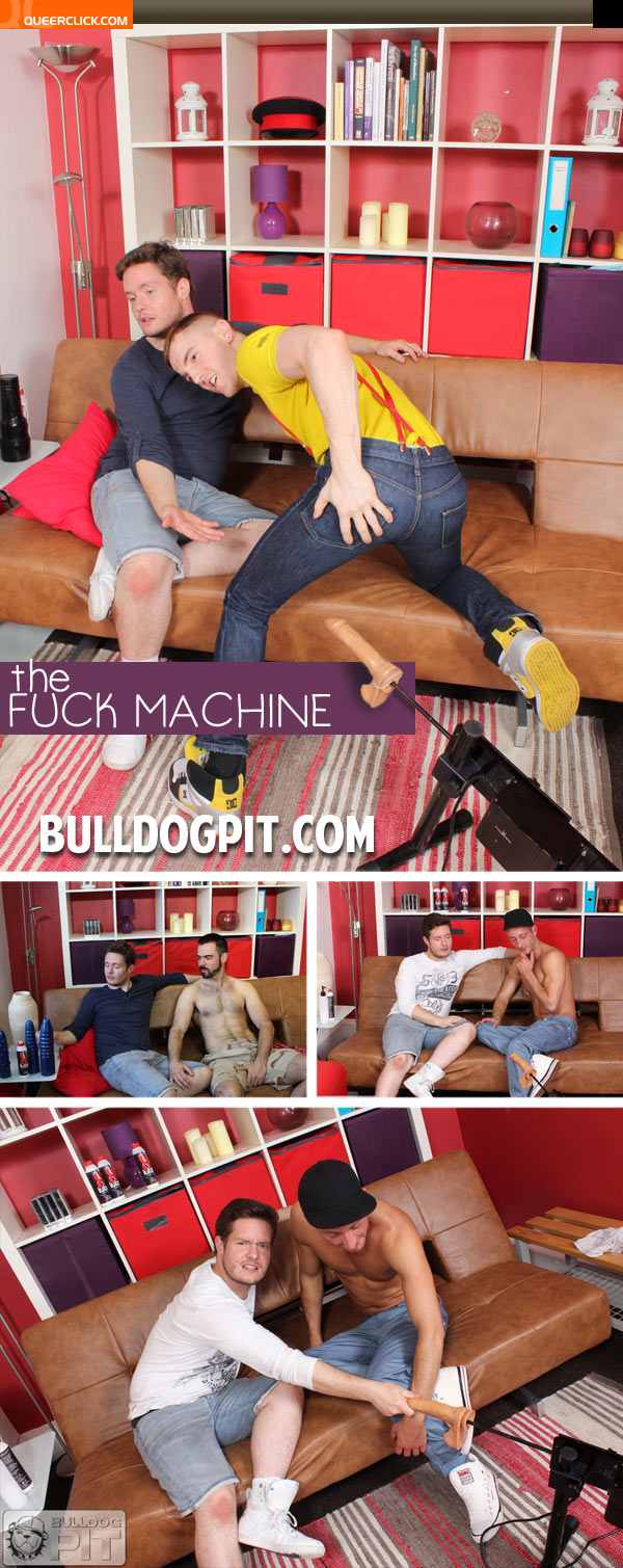 bulldog pit fuck machine