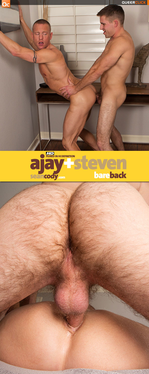 Sean Cody: Ajay and Steven Bareback