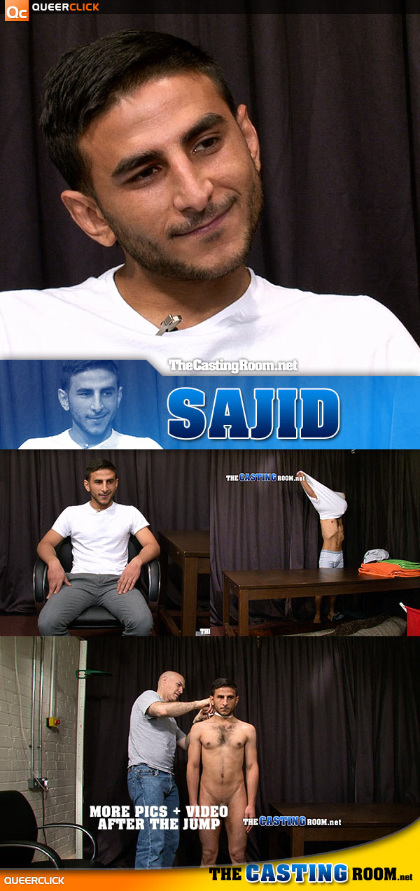 The Casting Room: Sajid