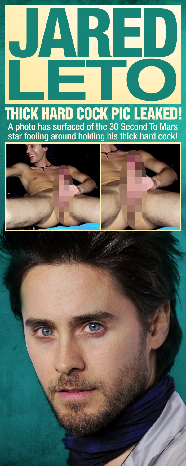 Leto cock ass jared nude