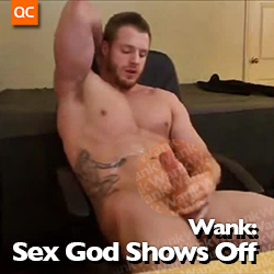 Wank: Sex God Shows Off