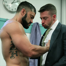 Men at Play: Rogan Richards and Scott Hunter