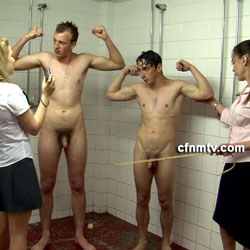 CFNMTV.com - Boys Caught in the Shower