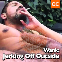 Wank: Jerking Off Outside