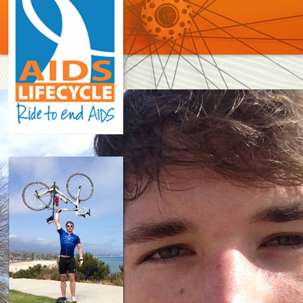Gayhoopla's JJ Swift is Riding for AIDS Lifecycle