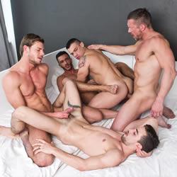 Lucas Entertainment: Tomas & Fernando's Raw Sex Orgy