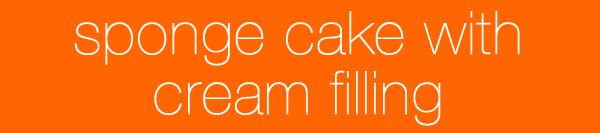 Queerism - Sponge Cake with Cream Filling
