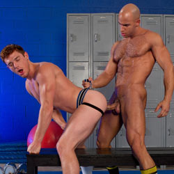 Falcon Studios: Jacked - Brent Corrigan and Sean Zevran