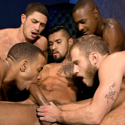 Falcon Studios: Into Darkness - Shawn Wolfe, Boomer Banks, Trelino, Tyson Tyler and Dato Foland