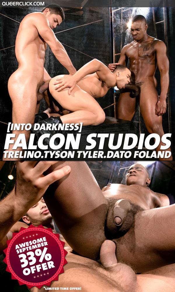 Falcon Studios: Into Darkness - Trelino, Tyson Tyler and Dato Foland