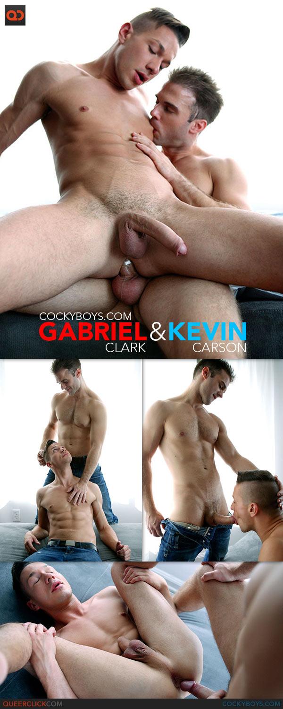 Cocky Boys: Gabriel Clark Fucks Kevin Carson
