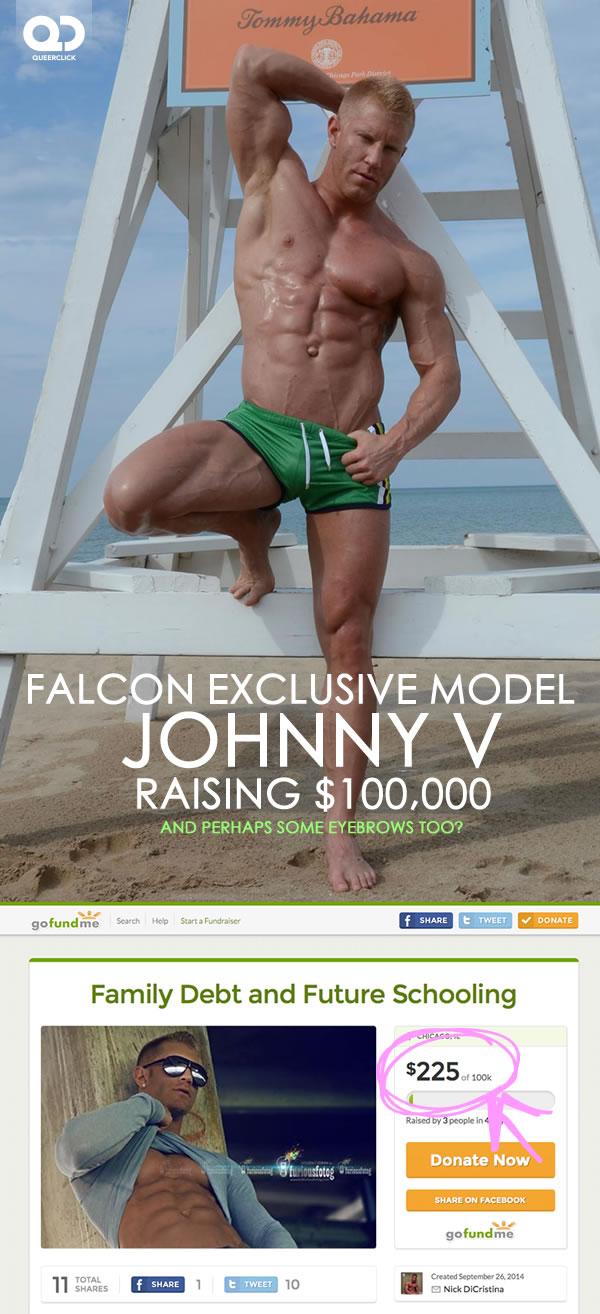 Falcon Exclusive Johnny V Raising $100,000