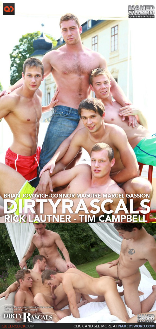 naked sword dirty rascals orgy
