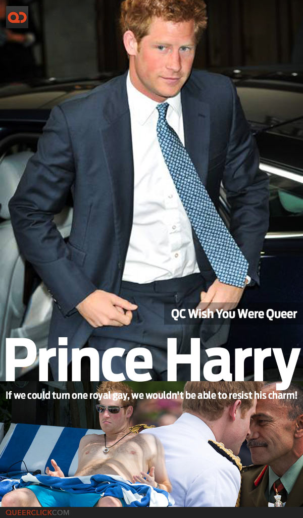 QC's Wish You Were Queer: Prince Harry