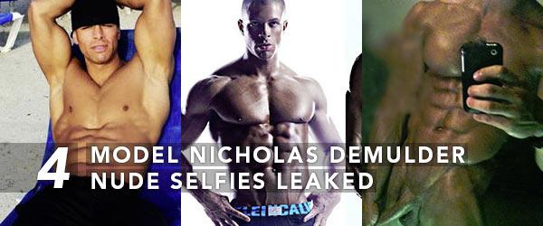 Model Nicholas Demulder Nude Selfies Leaked