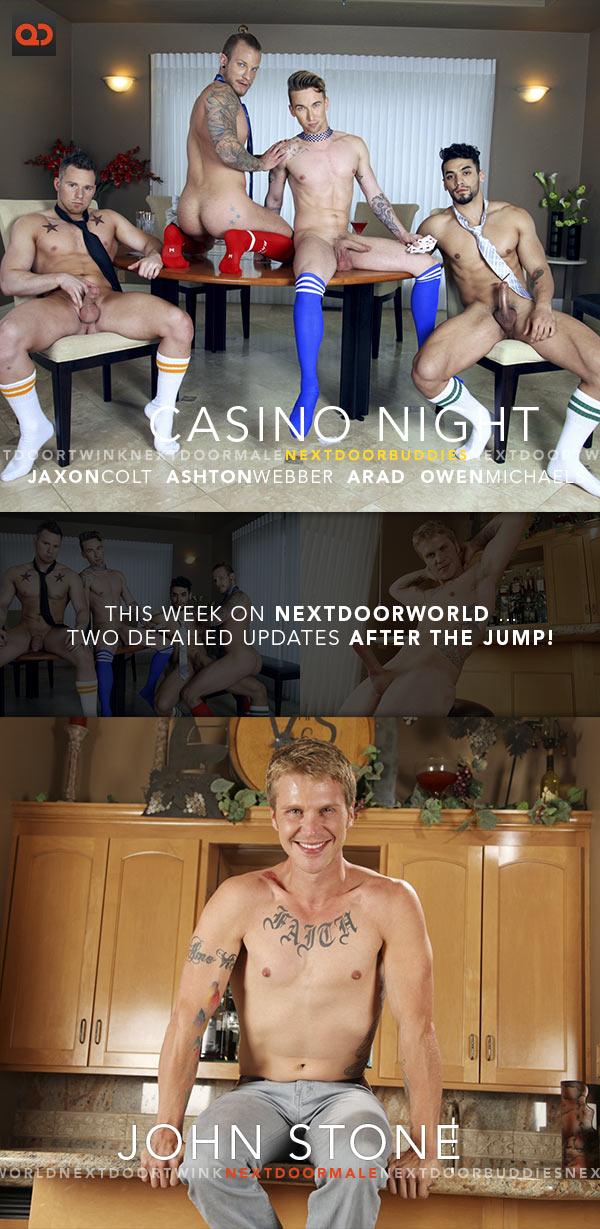 This Week on NextDoorWorld: John Stone and Jaxon Colt, Ashton Webber, Arad, Owen Michaels