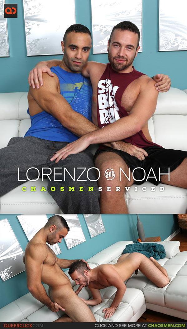 ChaosMen: Lorenzo and Noah Riley - Serviced