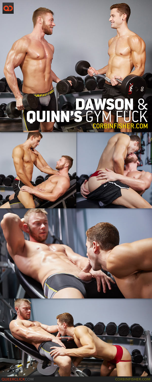 Corbin Fisher: Dawson and Quinn's Gym Fuck