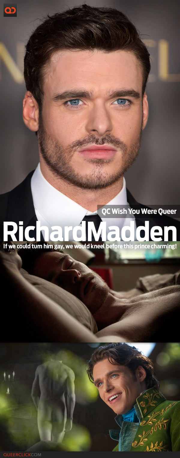 QC's Wish You Were Queer: Richard Madden