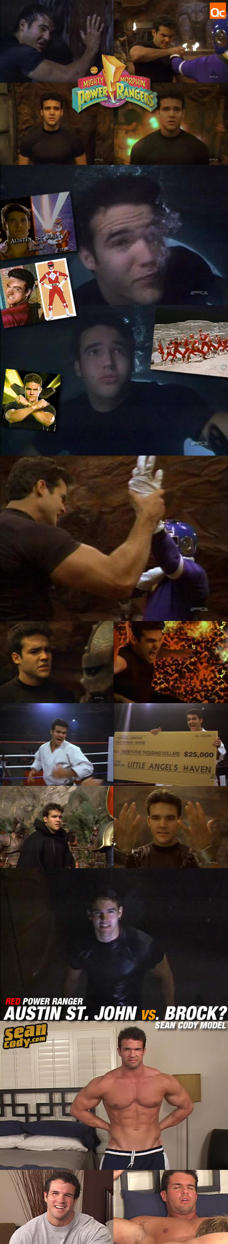 Austin St. John vs. Brock