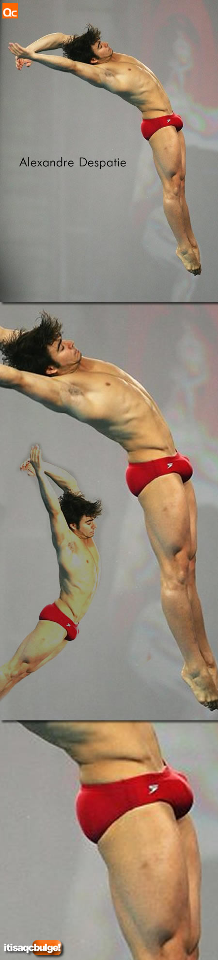 Alexandre Despatie's Bulge