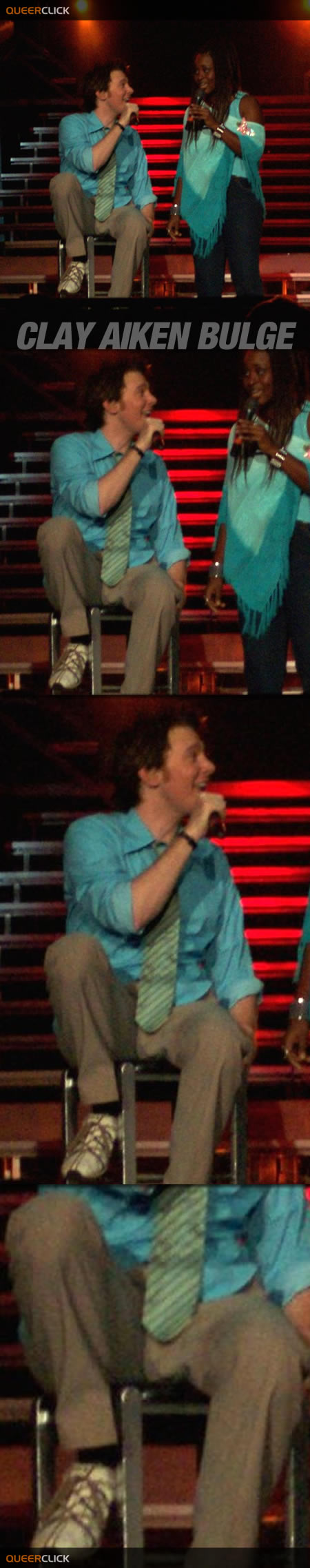 Clay Aiken Duet Bulge
