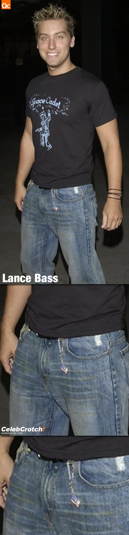 Lance Bass' Crotch