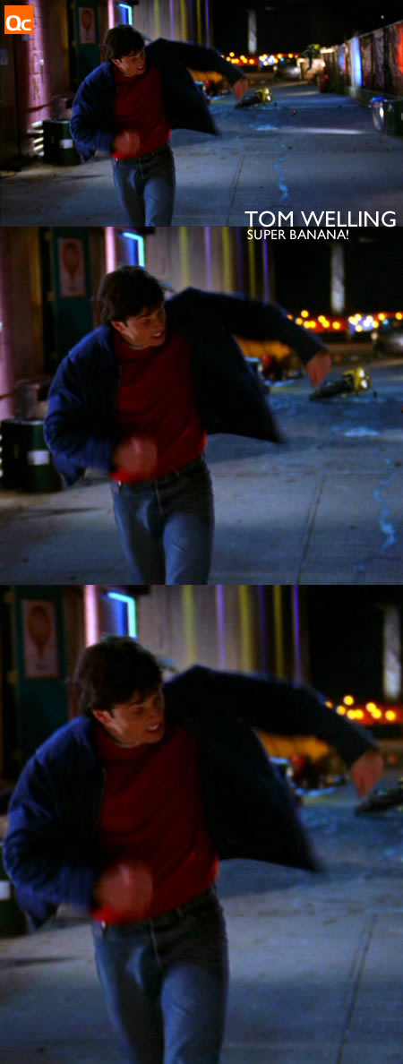 Tom Welling's Bulge