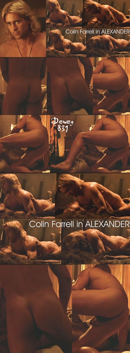 Colin Farrell's jewels in Alexander
