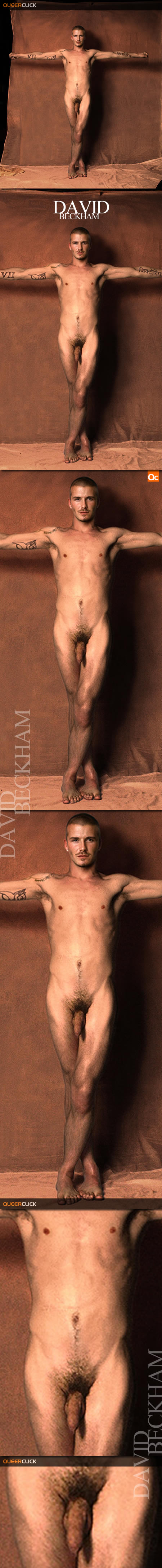 David Beckham Frontal Nude
