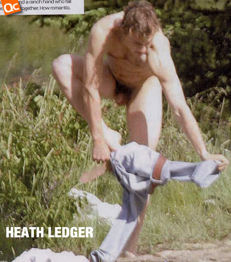 Heath Ledger Nude Pix