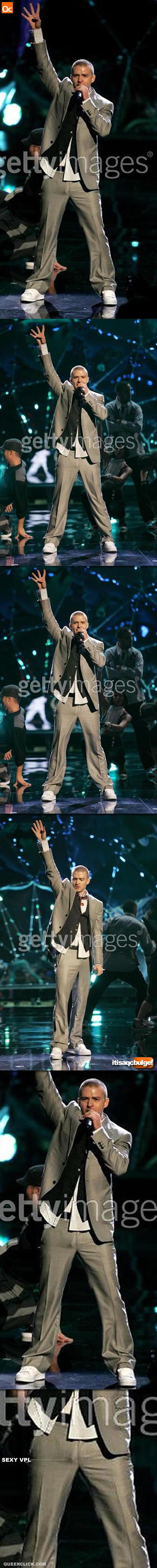 Justin Timberlake's Sexy VPL/Bulge