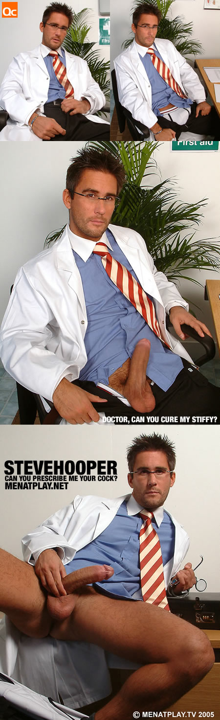 Steve Hooper is gonna give you a potent injection of his huge cock