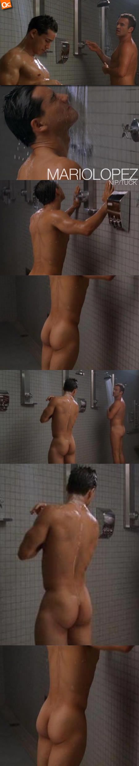 Mario lopez naked shower