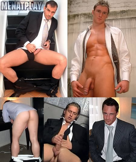 High quality images and videos of men in suits at Men At Play!
