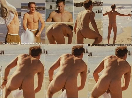Patrick Wilson with his dangling balls