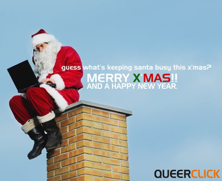 Merry X'mas from QueerClick.com