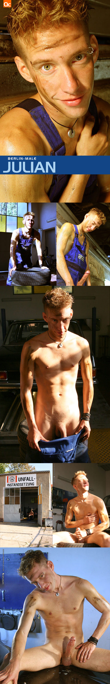 Bentley Race: Christiano Szucs - Naked in Berlin - QueerClick