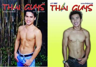 Thai Guys magazine covers