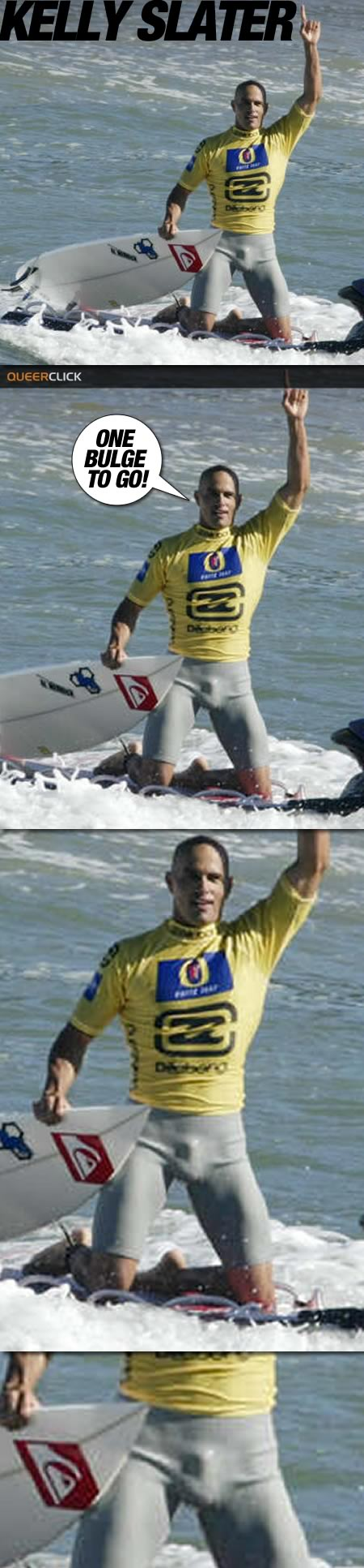 Kelly Slater Bulge