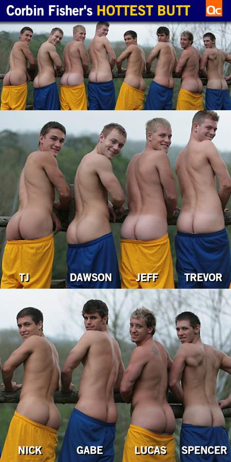 Corbin Fisher's Hottest Butt: Dawson!