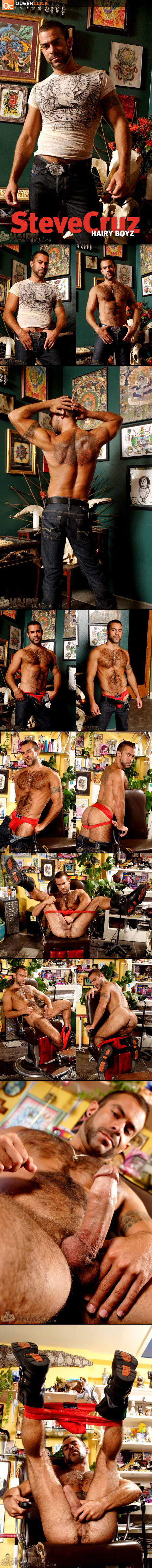 Steve Cruz at HairyBoyz.com