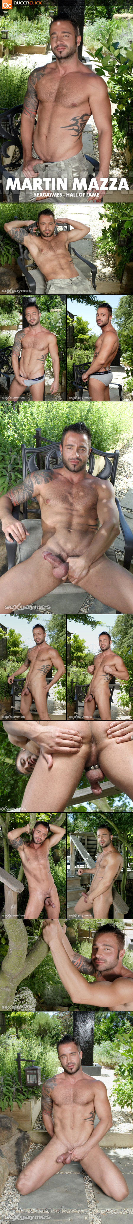 Martin Mazza at SexGaymes.com