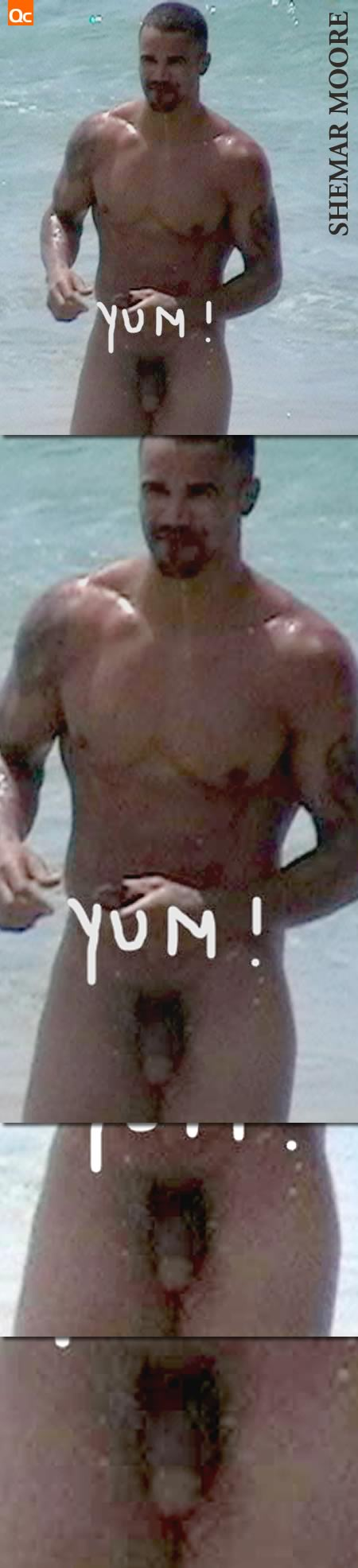 Shemar Moore Nude At Gay Beach. The National Enquirer ran some photos of the ...