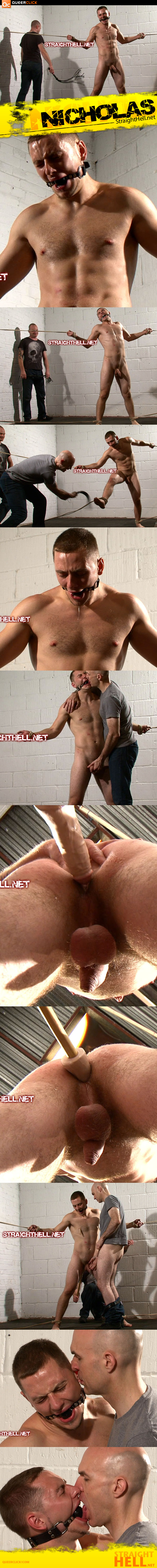Ass Flogging and Hazing at StraightHell