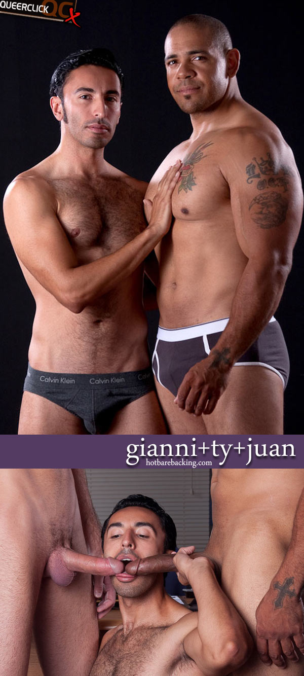 Juan steel ty and gianni luca