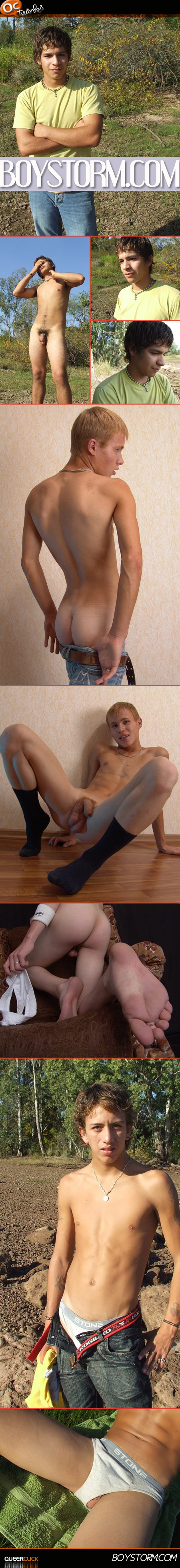 boystorm new twink faces ass and dicks