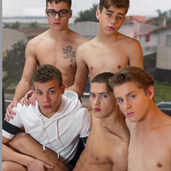 Helix Studios: Blake Mitchell, Sean Ford, Joey Mills, Wes Campbell and Corbin Colby