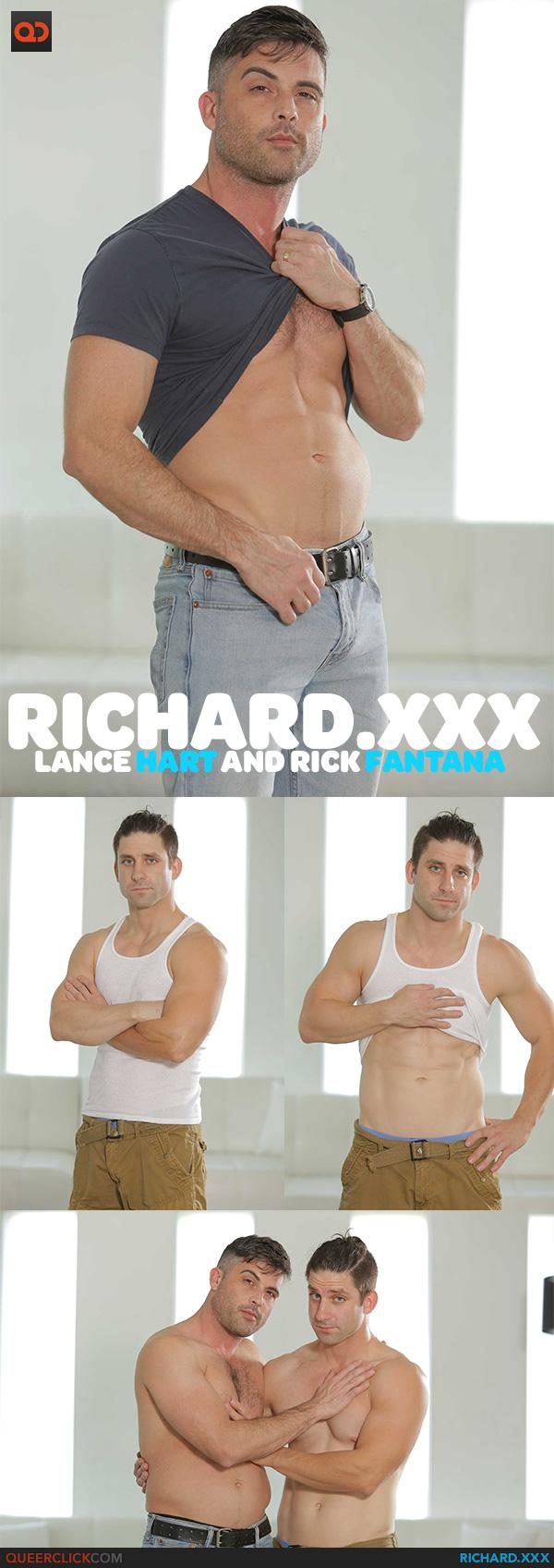 Richard.XXX:  Lance Hart and Rick Fantana